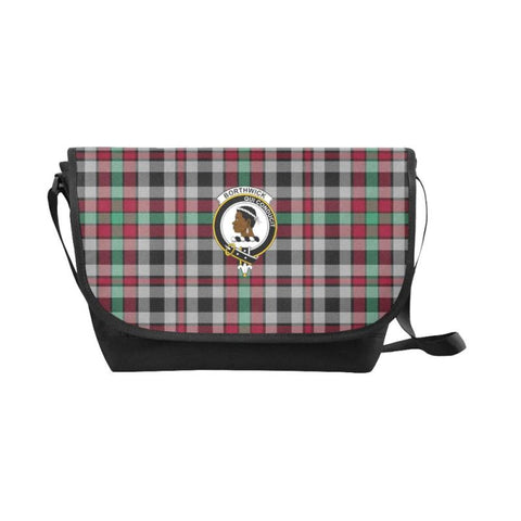 Borthwick Ancient Tartan Clan Badge Messenger Bag - Sd1 Bags