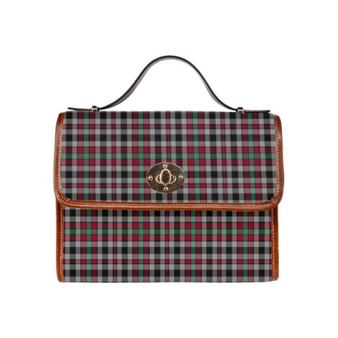 Image of Borthwick Ancient Tartan Canvas Bag | Waterproof Bag | Scottish Bag