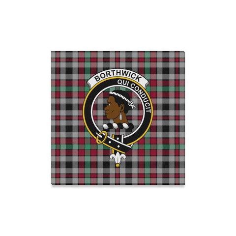 Image of Tartan Canvas Print - Borthwick Clan | Over 300 Scottish Clans and 500 Tartans