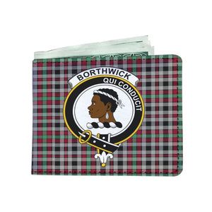 Borthwick Clan Tartan Men Wallet Y3 Wallets