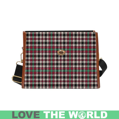 Borthwick Dress Ancient Tartan Canvas Bag | Waterproof Bag | Scottish Bag