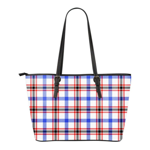 Boswell Modern  Tartan Handbag - Tartan Small Leather Tote Bag Nn5 |Bags| Love The World