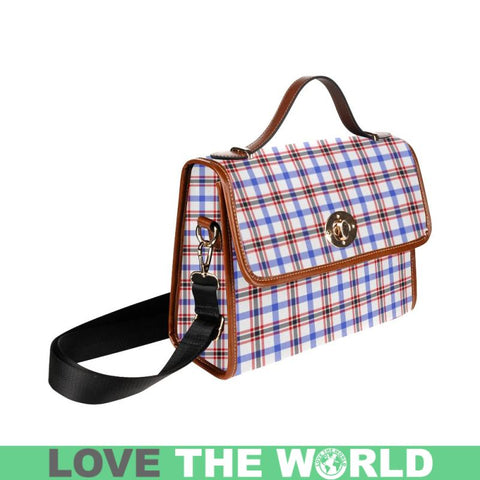 Image of Boswell Modern Tartan Plaid Canvas Bag | Online Shopping Scottish Tartans Plaid Handbags