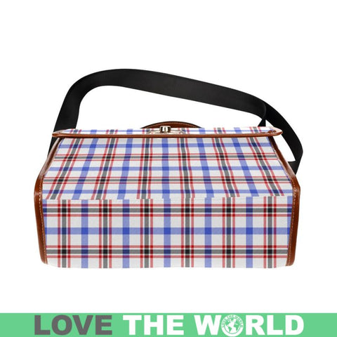 Boswell Modern Tartan Plaid Canvas Bag | Online Shopping Scottish Tartans Plaid Handbags
