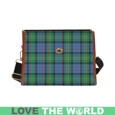 Bowie Ancient Tartan Canvas Bag | Waterproof Bag | Scottish Bag
