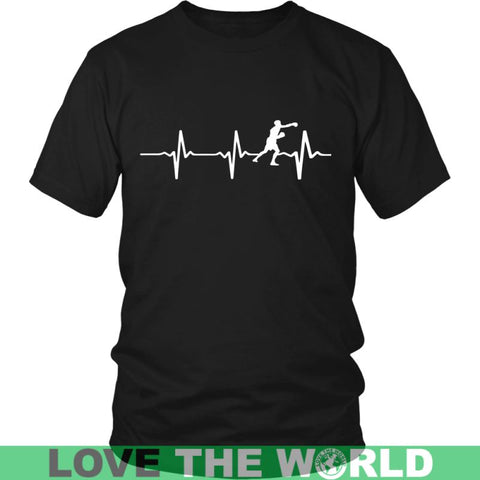 Image of Boxing Always In My Heartbeat A9 District Unisex Shirt / Royal Blue S T-Shirts