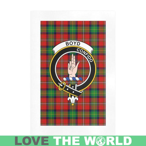Image of Boyd Clan Tartan Art Print F1 One Size / 16í_í‡X23í_í‡ Prints