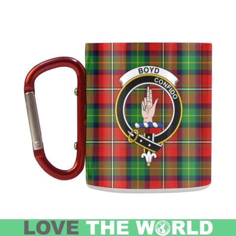 Tartan Mug - Clan Boyd Tartan Insulated Mug A9 | Love The World