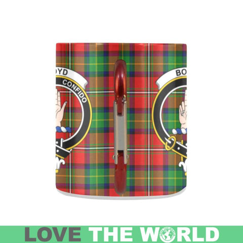 Image of Tartan Mug - Clan Boyd Tartan Insulated Mug A9 | Love The World
