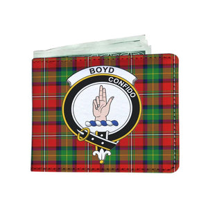 Boyd Clan Tartan Men Wallet Y3 Wallets