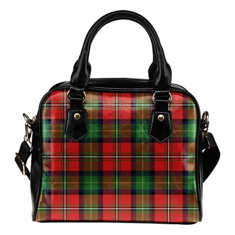 Boyd Modern Tartan Shoulder Handbag - Bn Handbags