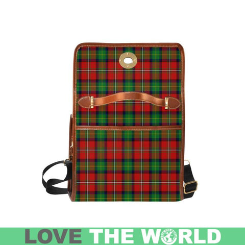 Image of Boyd Modern Tartan Canvas Bag | Waterproof Bag | Scottish Bag