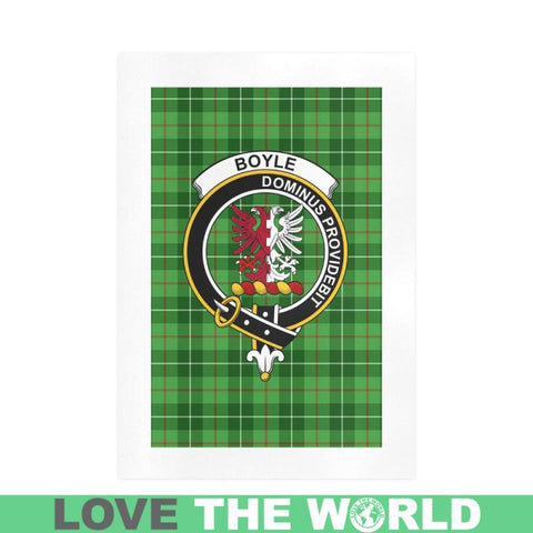 Image of Boyle Clan Tartan Art Print F1 One Size / 19í_í‡X28í_í‡ Prints