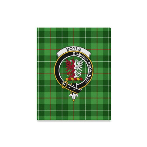 Tartan Canvas Print - Boyle Clan | Over 300 Scottish Clans and 500 Tartans