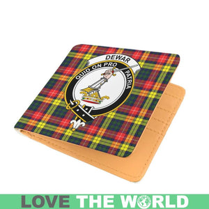 BOYLE CLAN TARTAN MEN WALLET A3