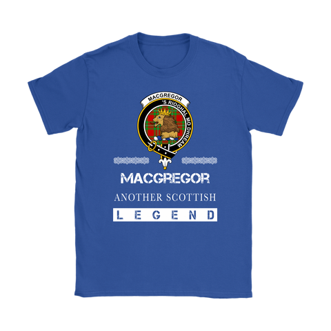 MacGregor Scottish Legend T-shirt And Hoodie A9