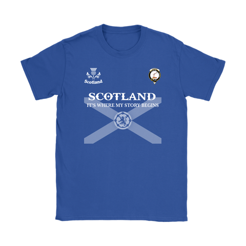 Scotland T-shirt - Cooper | Exclusive Over 300 Clans