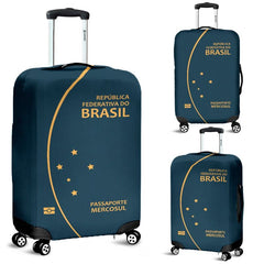 BRAZIL PASSPORT LUGGAGE COVER - BN