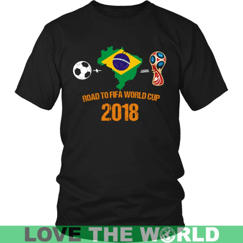 Brasil - Road To Fifa A9 District Unisex Shirt / Royal Blue S T-Shirts