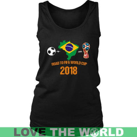 Image of Brasil - Road To Fifa A9 District Unisex Shirt / Royal Blue S T-Shirts