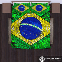 Brazil Bedding Sets - Pattern Flag A6