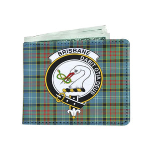 Brisbane Clan Tartan Men Wallet Y3 Wallets