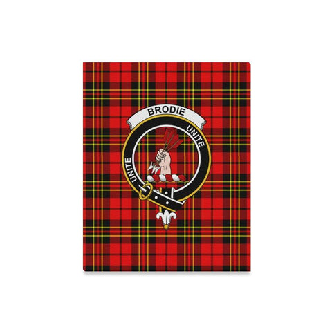 Image of Tartan Canvas Print - Brodie Clan | Over 300 Scottish Clans and 500 Tartans