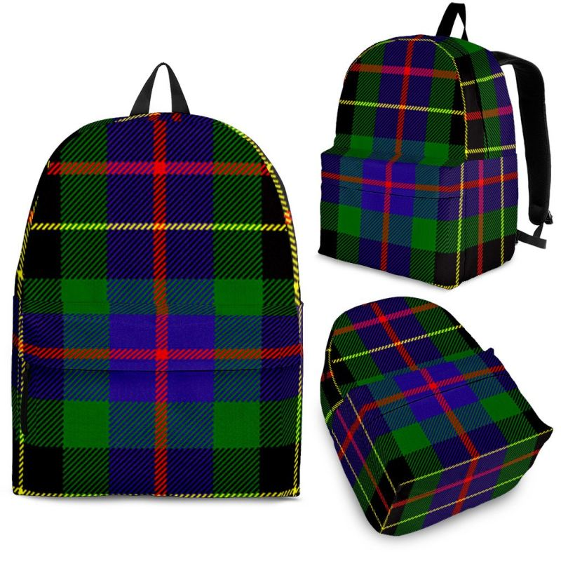 Brodie Hunting Modern Tartan Backpack Backpacks
