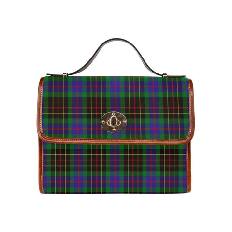 Brodie Hunting Modern Tartan Canvas Bag | Waterproof Bag | Scottish Bag