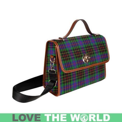 Brodie Hunting Modern Tartan Plaid Canvas Bag | Online Shopping Scottish Tartans Plaid Handbags