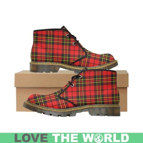 Image of Tartan Chukka Boot - Aberdeen District | Nubuck Chukka Boots | Scotland Shoes