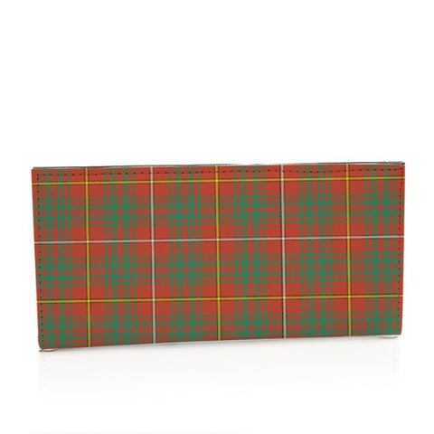 Bruce Ancient Tartan Long Leather Wallet S1 Style-1 Bifold Wallets