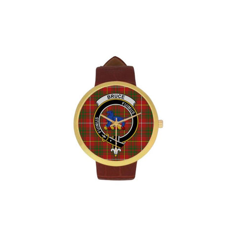 Bruce Modern Clan Badge Tartan Watch
