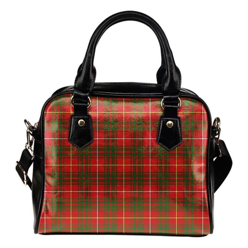 Bruce Modern Tartan Shoulder Handbag - Bn Handbags