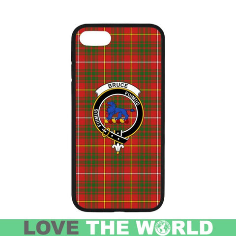 Image of Bruce Tartan Clan Badge Rubber Phone Case Hj4 One Size / Rubber Case For Iphone 7 Plus (5.5 Inch)