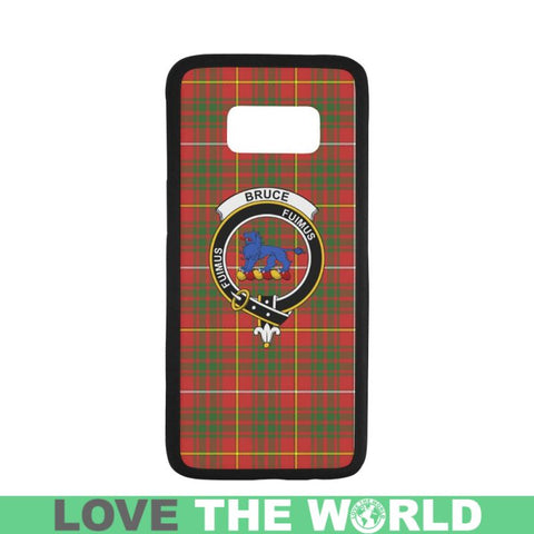 Bruce Tartan Clan Badge Rubber Phone Case Hj4 One Size / Rubber Case For Iphone 7 Plus (5.5 Inch)