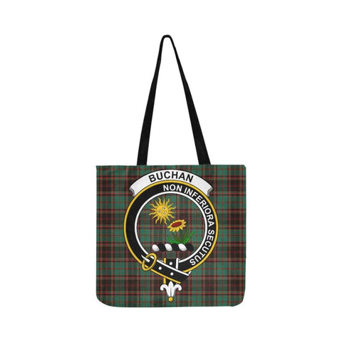 Buchan Ancient Clan Badge Tartan Reusable Shopping Bag - Hb1 Bags