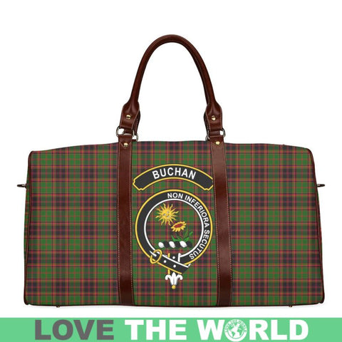 Tartan Travel Bag - Buchan Clan | Scottish Travel bag | 1sttheworld