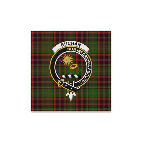 Image of Tartan Canvas Print - Buchan Clan | Over 300 Scottish Clans and 500 Tartans