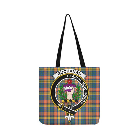 Buchanan Ancient Clan Badge Tartan Reusable Shopping Bag - Hb1 Bags