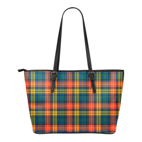 Buchanan Ancient  Tartan Handbag - Tartan Small Leather Tote Bag Nn5 |Bags| Love The World