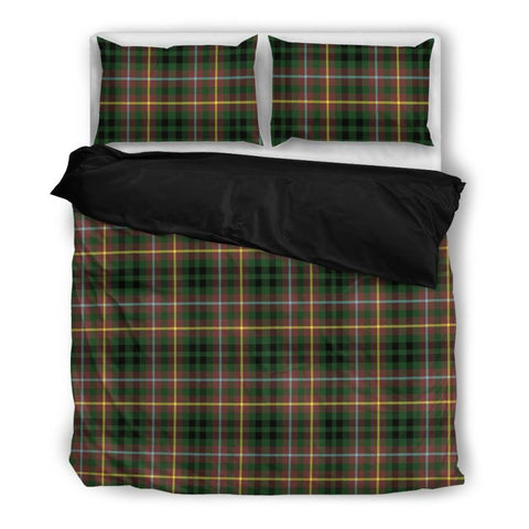 Image of Buchanan Hunting Tartan Bedding Set Nl25 Bedding Set - Black / Twin Sets