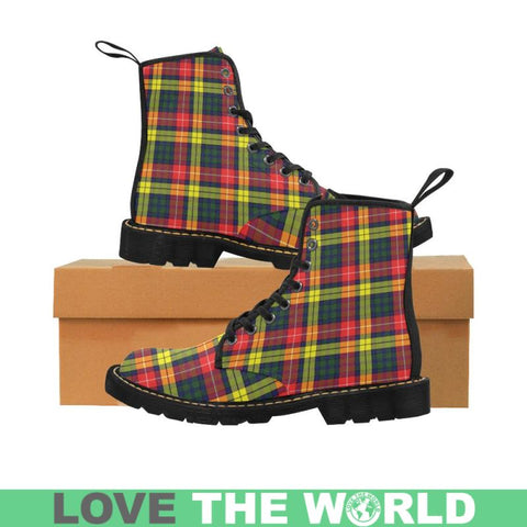 Image of Buchanan Modern Tartan Martin Boots | Scotland Boots | Over 500 Tartans
