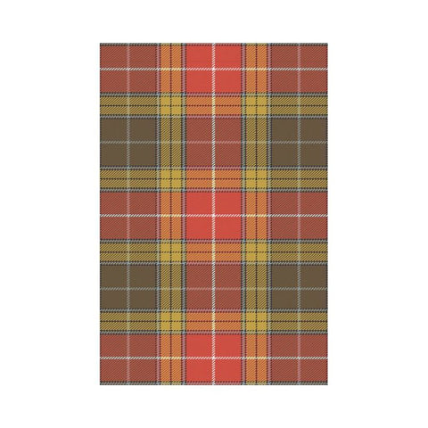 Image of Buchanan Old Set Weathered Tartan Flag K7 |Home Decor| 1sttheworld