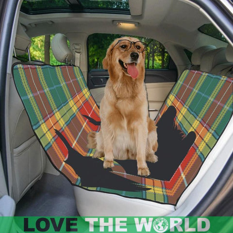 Buchanan Old Sett Scottie Tartan Pet Car Seat Dt8 Seats