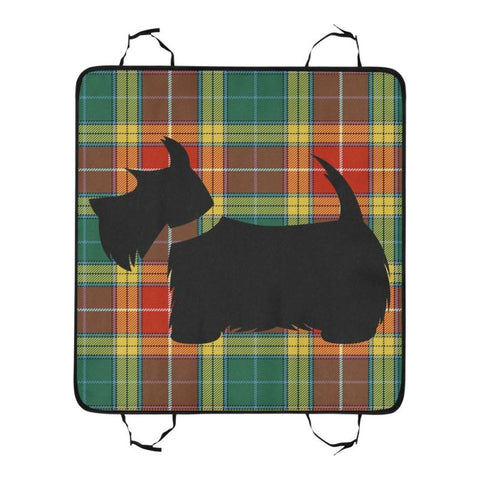 Image of Buchanan Old Sett Scottie Tartan Pet Car Seat Dt8 Seats