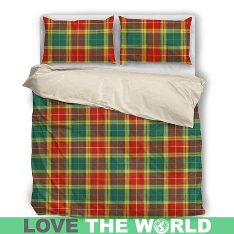 Buchanan Old Sett Tartan Bedding Set Nl25 Bedding Set - Black / Twin Sets
