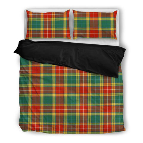 Image of Buchanan Old Sett Tartan Bedding Set Nl25 Bedding Set - Black / Twin Sets
