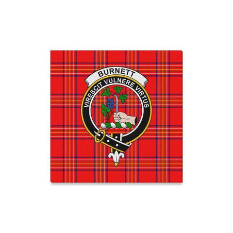 Image of Tartan Canvas Print - Burnett Clan | Over 300 Scottish Clans and 500 Tartans