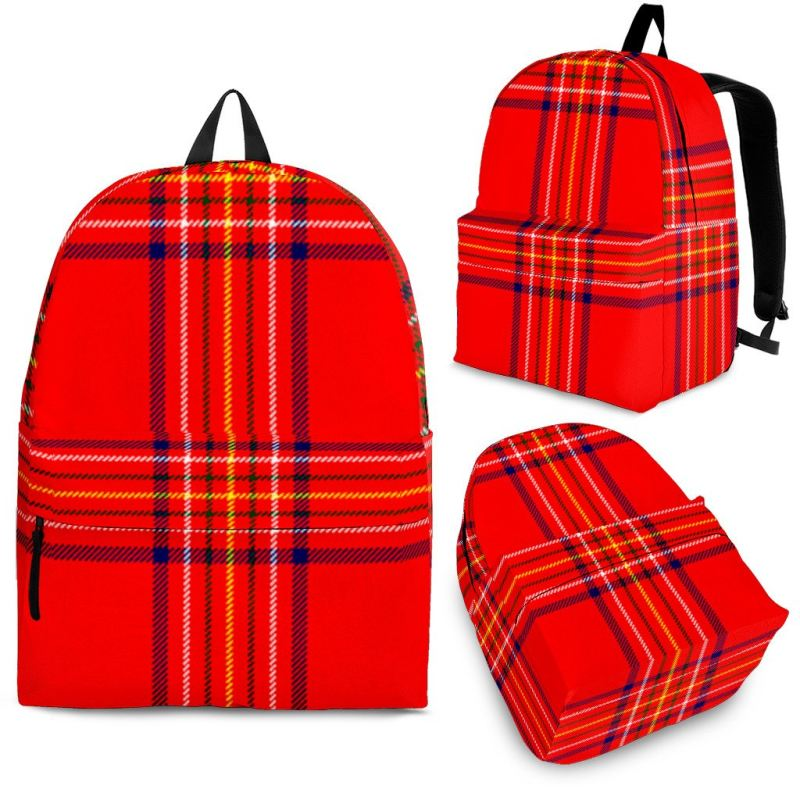 Burnett Modern Tartan Backpack Backpacks